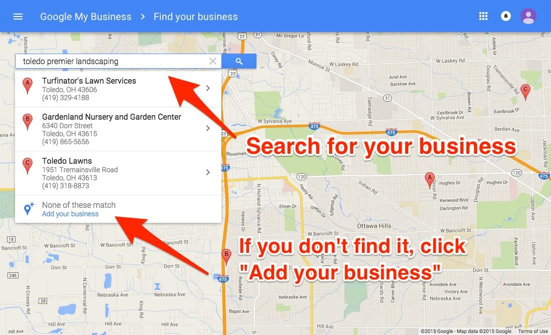 Google My Business Encuentra tu negocio