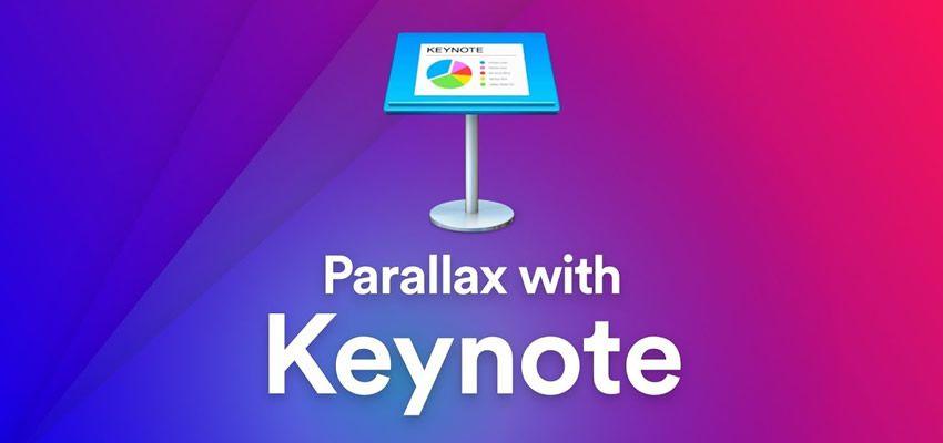 Cách tạo hình động parallax dựa trên cuộn Keynote
