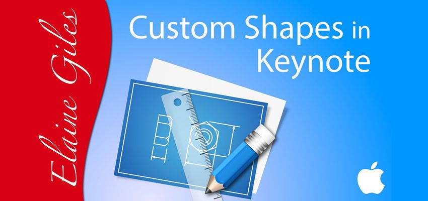Cómo crear formas personalizadas en Keynote