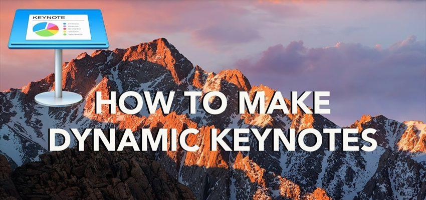 Cómo crear conferencias dinámicas