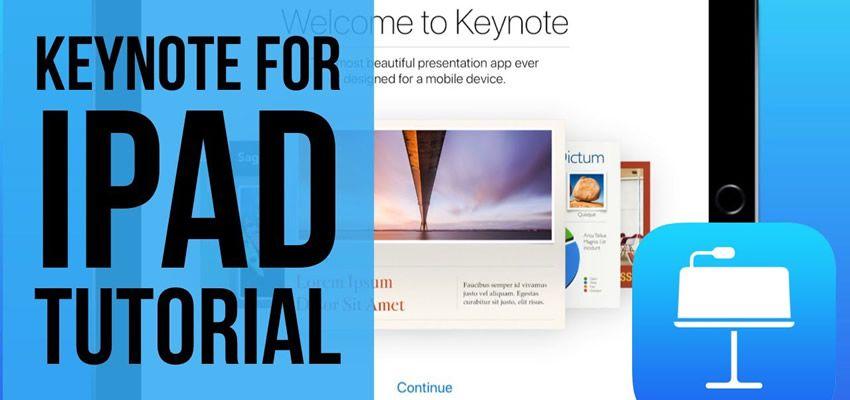Demostración de Apple Keynote para iPad