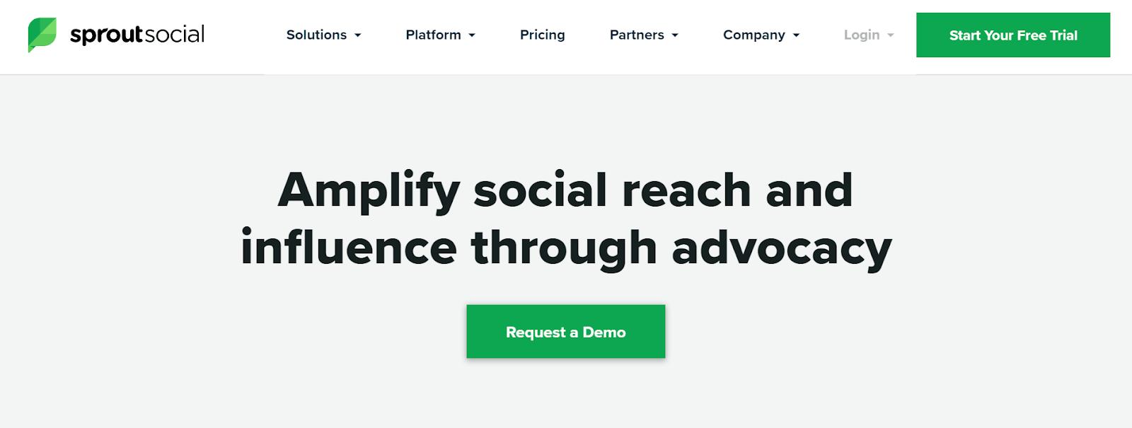 Plataformas de defensa de los empleados sociales de Sprout