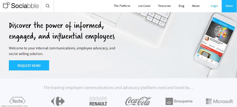 Herramientas de defensa de los empleados de Sociabble