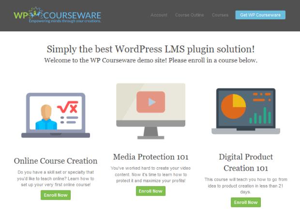 wp courseware wordpress lms plugin