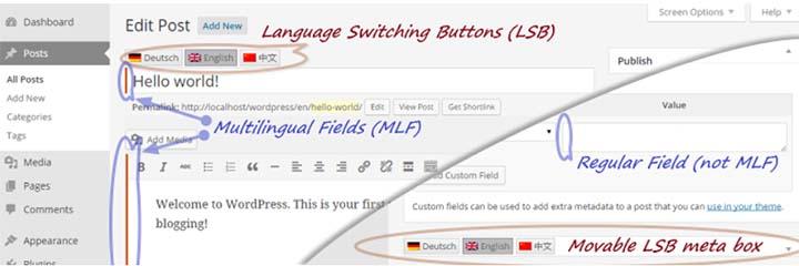 """qtranslate-WordPress-translation-plugin """"width ="""" 720 """"height ="""" 240 """"srcset ="""" https://blogging-techies.com/wp-content/uploads/2020/04/1588090029_161_La-coleccion-definitiva-de-los-mejores-complementos-de-traduccion-de.jpg 720w, https://themegrill.com/blog/wp-content/uploads/2017/07/qtranslate-WordPress-translation-plugin-300x100.jpg 300w """"tamaños ="""" (ancho máximo: 720px) 100vw, 720px """"></p> <p><strong>qTranslate X</strong> es otro poderoso <strong>Plugin multilingüe de WordPress que está disponible de forma gratuita</strong>. Básicamente, este complemento es el descendiente de qTranslate. Sin embargo, viene cargado con más funcionalidades y características que la de qTranslate. Este complemento es fácil de usar y ofrece una manera fácil de administrar contenido multilingüe de sitios de WordPress. La funcionalidad de este complemento es similar a la de Polylang. Además, proporciona botones de cambio de idioma. Eso significa que, con solo un clic, los usuarios pueden cambiar de idioma mientras editan publicaciones.</p> <p>Lo mejor de todo es que el cambio de idioma ocurre instantáneamente en su navegador local sin enviar ninguna solicitud adicional al servidor. Además, no solo traducciones automáticas gratuitas, también admite la traducción profesional por humanos.</p><div class='code-block code-block-8' style='margin: 8px auto; text-align: center; display: block; clear: both;'> <div data-ad="""