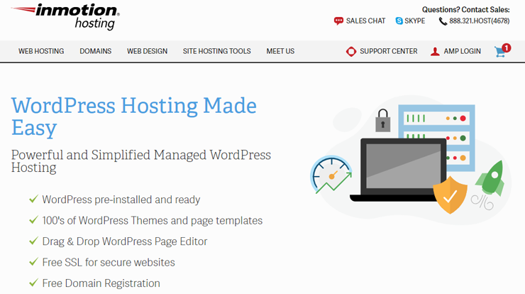 revisión de hosting inmotion