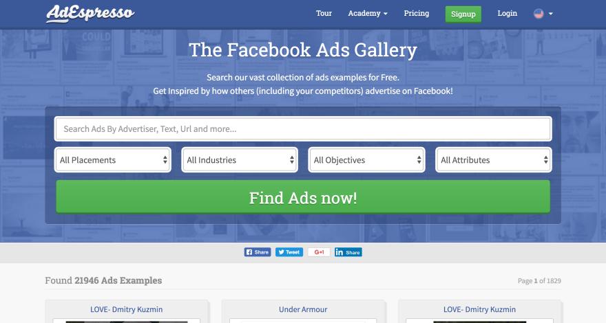 plantilla de plan de marketing de facebook