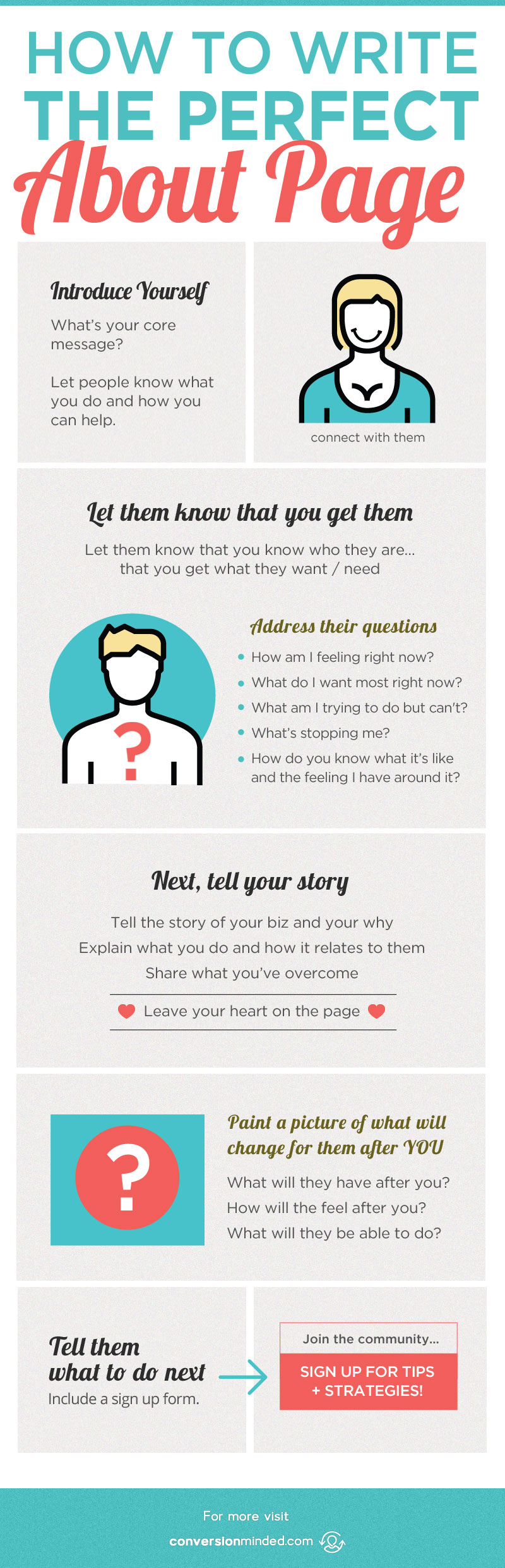 ¿Qué debo incluir en mi página Acerca de mí? Si haces esa pregunta, esta publicación te ayudará. Incluye todos los puntos que los emprendedores y blogueros deben cubrir para que la gente se enganche a tu blog, tu por qué y cómo puedes ayudarlos. Haga clic para ver todos los consejos!