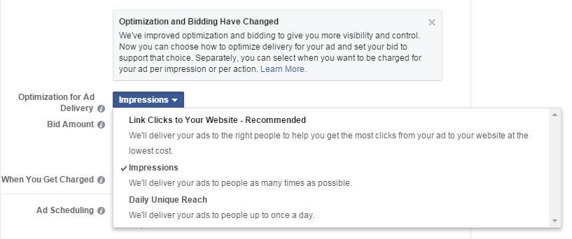 Facebook  Optimización de Ad Power Editor