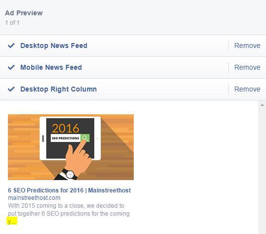 Vista de columna derecha de escritorio de publicación mejorada