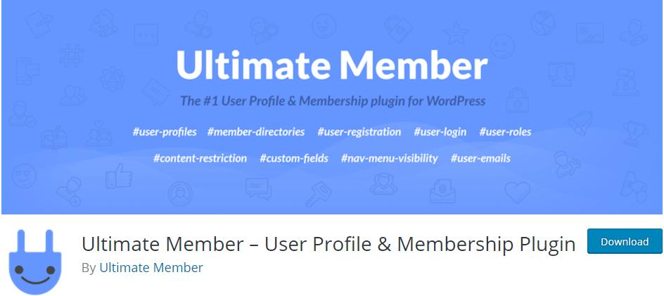 """Ultimate-Member-User-Profile-Membership-Plugin """"width ="""" 944 """"height ="""" 421 """"srcset ="""" https://themegrill.com/blog/wp-content/uploads/2017/07/Ultimate-Member-User -Profile-Membership-Plugin.png 944w, https://themegrill.com/blog/wp-content/uploads/2017/07/Ultimate-Member-User-Profile-Membership-Plugin-300x134.png 300w, https: / /themegrill.com/blog/wp-content/uploads/2017/07/Ultimate-Member-User-Profile-Membership-Plugin-768x343.png 768w """"tamaños ="""" (ancho máximo: 944px) 100vw, 944px """"></p> <p><strong>Miembro final</strong> es un brillante <strong>Plugin de WordPress para registro de usuarios front-end, inicio de sesión y hermosos perfiles de usuario</strong>. El complemento tiene un panel de usuario simple pero potente. El complemento ofrece características y funcionalidades avanzadas de una manera simple y fácil de usar. De hecho, es un trabajo excepcional: ligero y altamente extensible al mismo tiempo.</p> <p>A medida que instala el complemento, el complemento agrega <strong>7 páginas de muestra</strong> en su sitio web de WordPress (). Por lo tanto, es la mitad del trabajo realizado con la activación del complemento. El complemento también proporciona <strong>tres formas de muestra</strong> por defecto para <strong></strong>y<strong></strong>. Por lo tanto, puede simplemente copiar y pegar los códigos cortos de formulario predeterminados en las publicaciones o páginas (si está de acuerdo con los formularios predeterminados).</p> <p>Para crear un nuevo formulario, debe ir al menú '' dentro del menú del complemento Ultimate Member. Al hacer clic en '', le proporcionará una página con soporte de construcción de arrastrar y soltar como se muestra en la imagen a continuación.</p> <p><img class="""