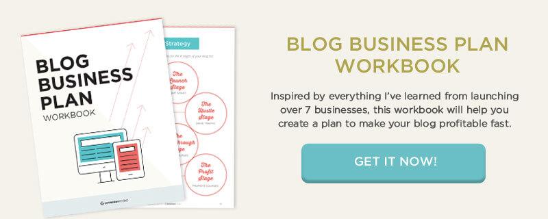 ¡Obtenga el Libro de trabajo del plan comercial del blog y comience a convertir su sueño en un negocio en línea rentable!