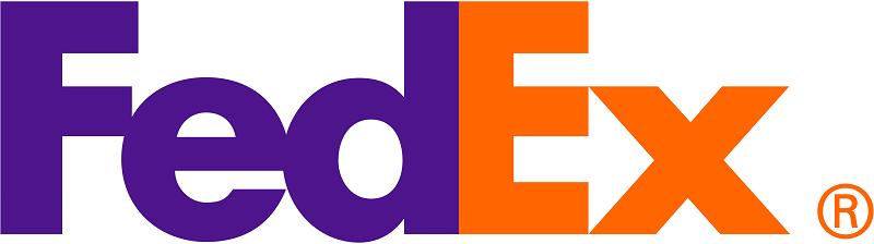 El logotipo de fedex es famoso por su excelente diseño.