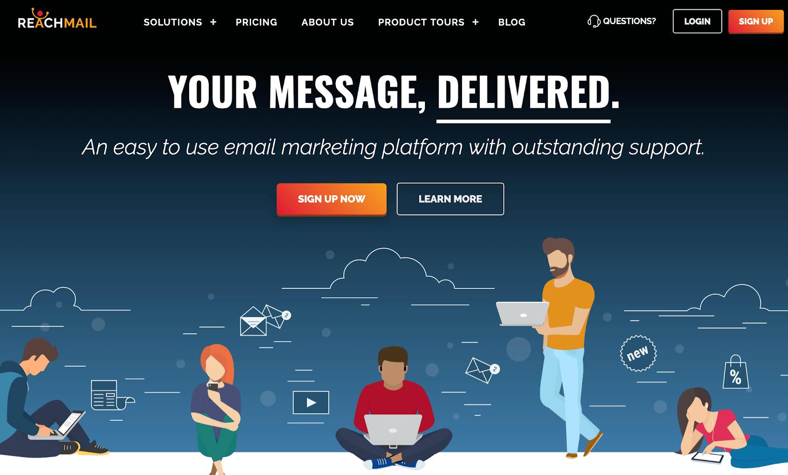 Servicio de marketing por correo electrónico ReachMail