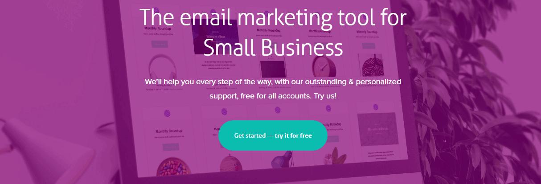Herramienta de marketing por correo electrónico de Cakemail