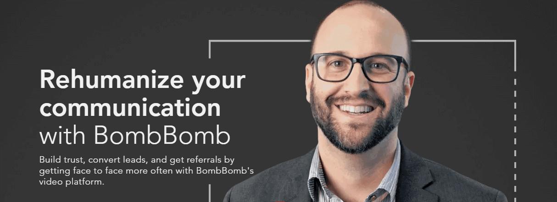 Herramienta de marketing por correo electrónico BombBomb
