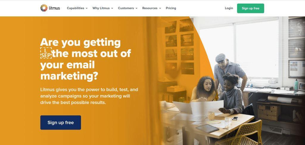 software de marketing por correo electrónico de tornasol