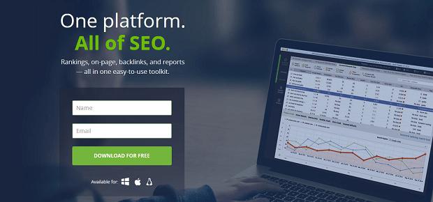 Herramienta de investigación de competidores SEO PowerSuite