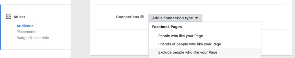 Facebook    Ciblage publicitaire