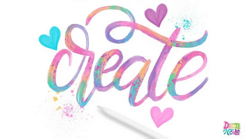 Làm thế nào để tạo thư pháp bằng sơn