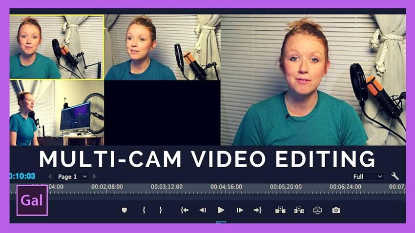 Edición multicámara en Adobe Premiere Pro