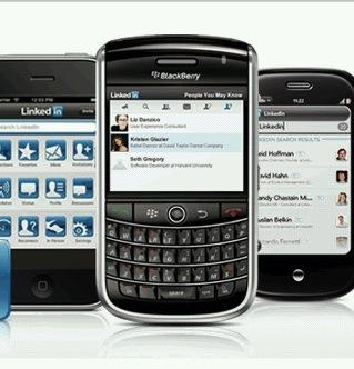 linkedin mobiili