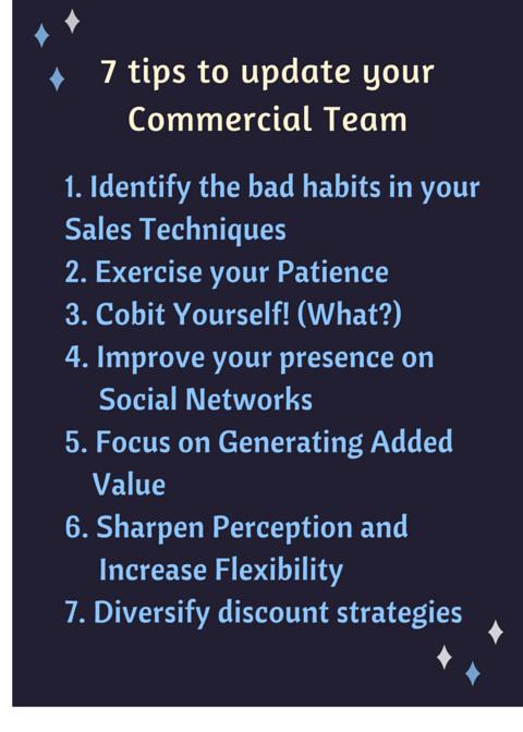 7 consejos para actualizar tu equipo comercial