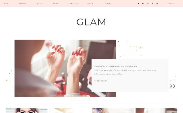 Temas femeninos gratuitos y premium de WordPress