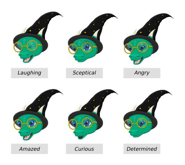 8  emosiynau falkor