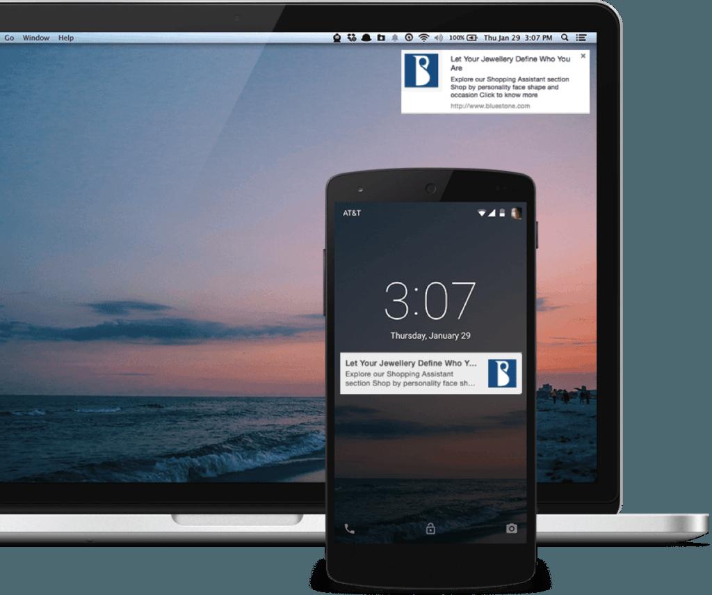 Notificaciones Push en dispositivos móviles y de escritorio