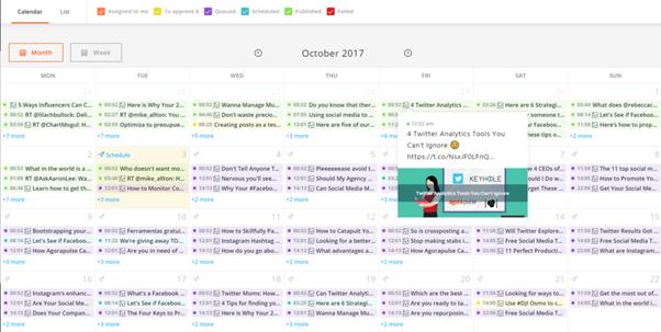 ¿Por qué necesitas un calendario social?