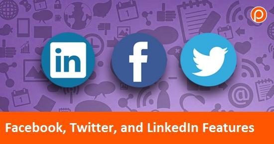 Facebook, Twitteret les fonctionnalités LinkedIn que vous avez peut-être manquées. · 1