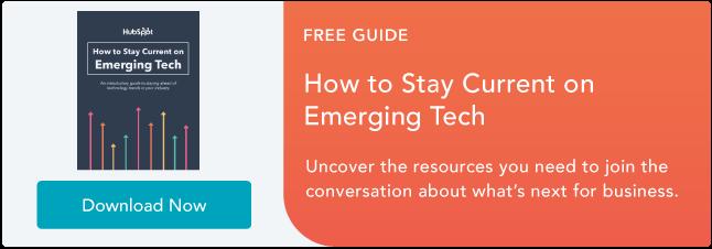 Manténgase actualizado sobre la tecnología emergente