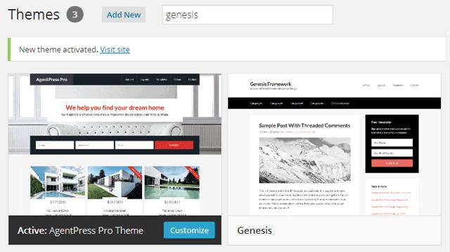 AgentPress Pro Review Genesis Çərçivəsi