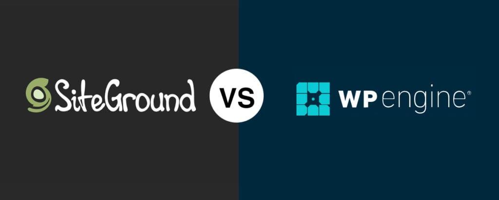 SiteGround vs WP Engine Comparación 2020