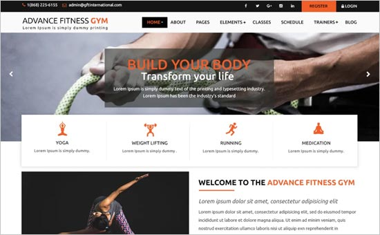 Advance Fitness Gym