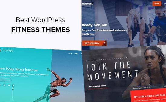 Los mejores temas de WordPress para blogs de fitness