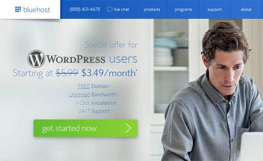 Los usuarios de WPBeginner obtienen un dominio gratis y 50% de descuento …