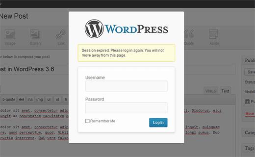 Parannettu istuntojen hallinta WordPressin avulla 3.6- Lokisanomat