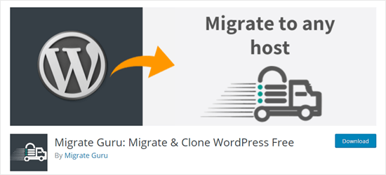 Migrate the Guru plugin for WordPress