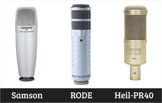 Comprar un micrófono profesional para podcasting