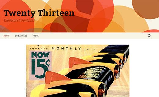 Kaksikymmentätoista: uusi oletus WordPress-teema 3.6