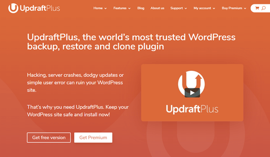UpdraftPlus Premium Plugin for WordPress