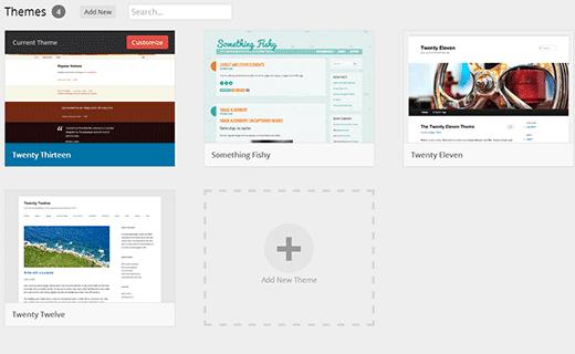 Teemanäyttö WordPress-kehitysversioissa 3.8