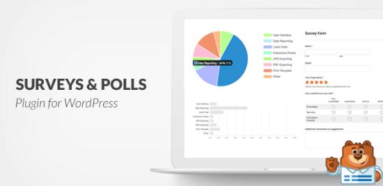 Complemento de encuestas y encuestas de WPForms