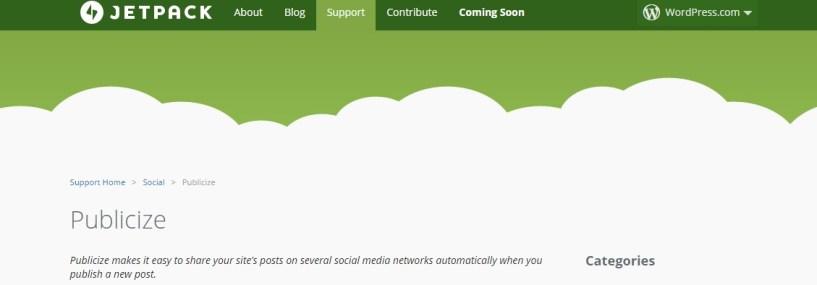 Cree un blog fácilmente: complemento de Jetpack