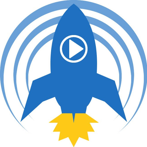 Resultado de imagen para Imagen del logotipo de blastoff de podcast