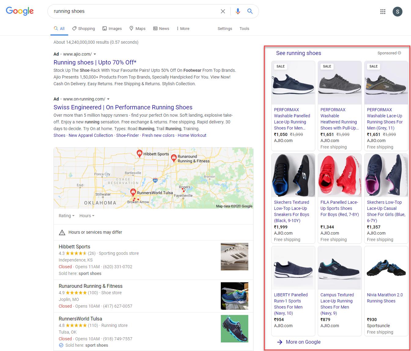 anuncios de compras de google