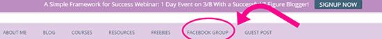 1 Facebook  Liên kết nhóm