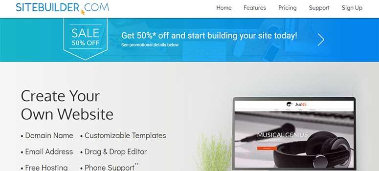 SiteBuilder.com